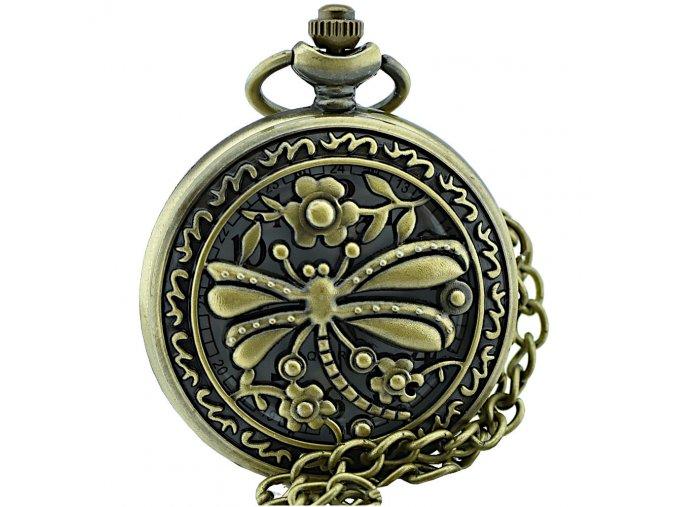 kapesni hodinky na retizku basetbolova vazka