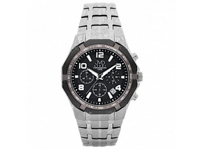 panske hodinky rucickove s kovovym reminkem jvd j1091 2