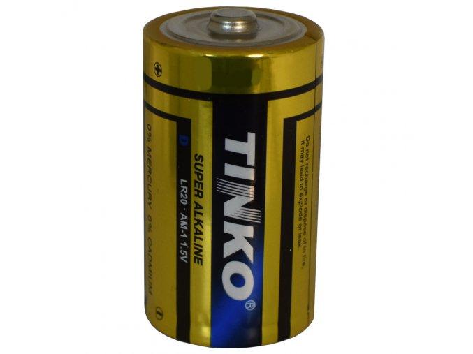 baterie velke mono 1 5 v do hodin radia tinko lr 20 alkalicke
