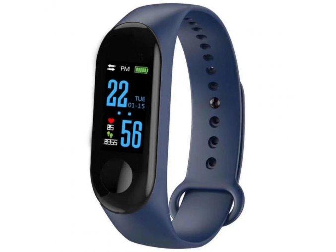 chytry smart fitness naramek m 3 yoho modry hl