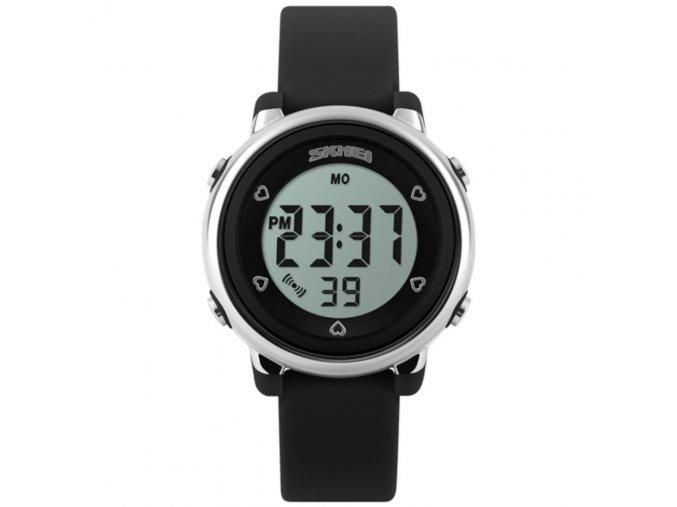 detske digitalni hodinky skmei 1100 cerne