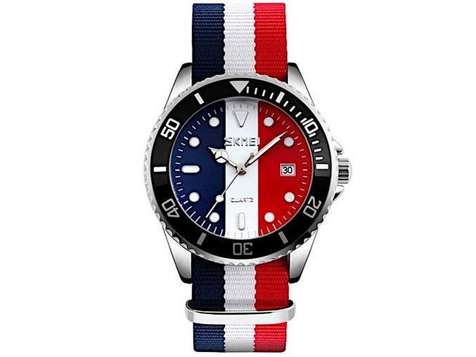 panske damske hodinky trikolora volby 2021 skmei 9133 hlavni