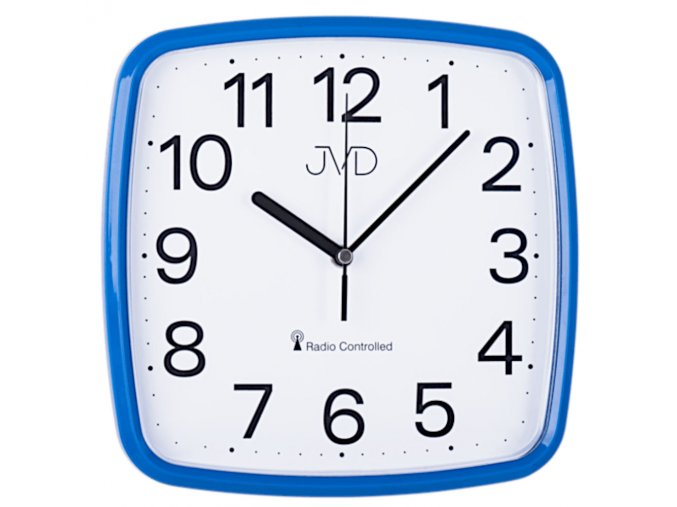 radiem rizene hodiny hranate modre jvd rh 616 5