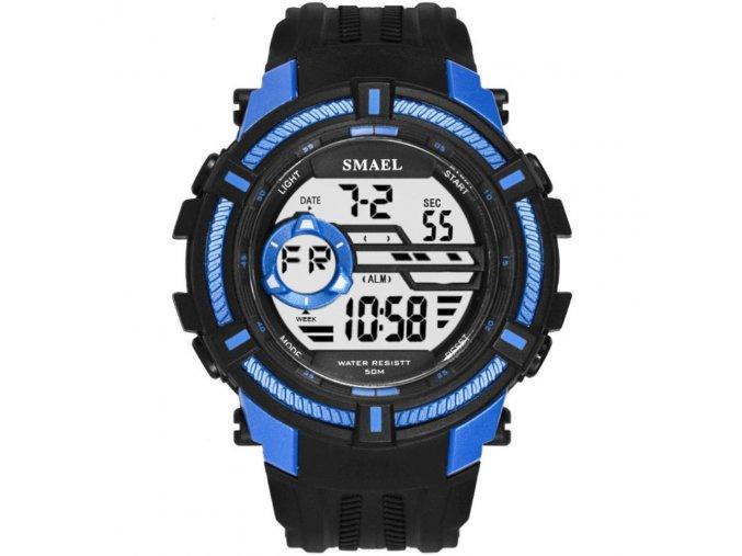 digitalni hodinky smael 1616 modre