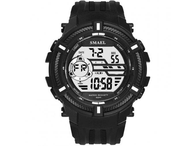 digitalni hodinky smael 1616 bíle
