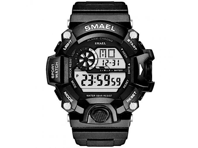 digitalni hodinky smael 1385B cerne