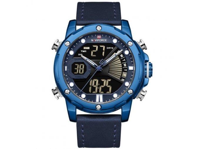 panske hodinky NAVIFORCE NF9172L zn111e modre hlavni