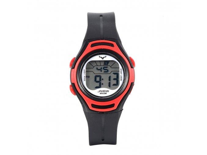 detske digitalni barevne hodinky jnew 9690 1 cerno cervene