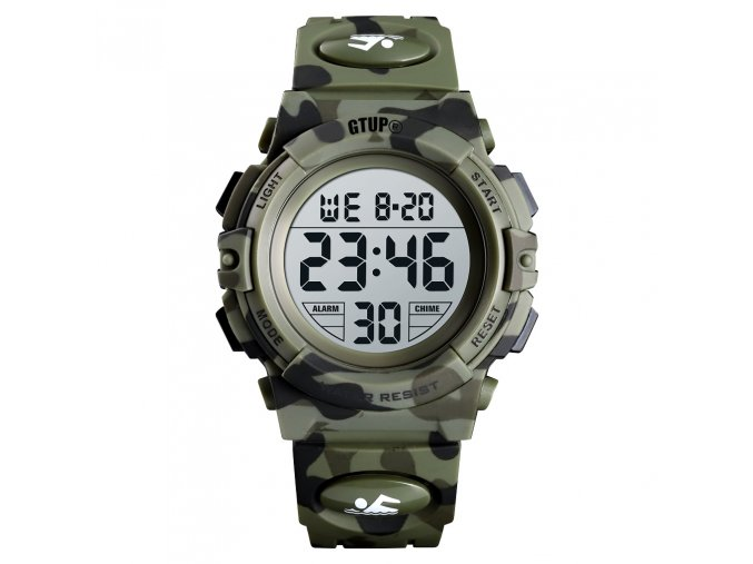 vojenske army digitalni hodinky ve vojenskem stylu gtup 1160 maskovane