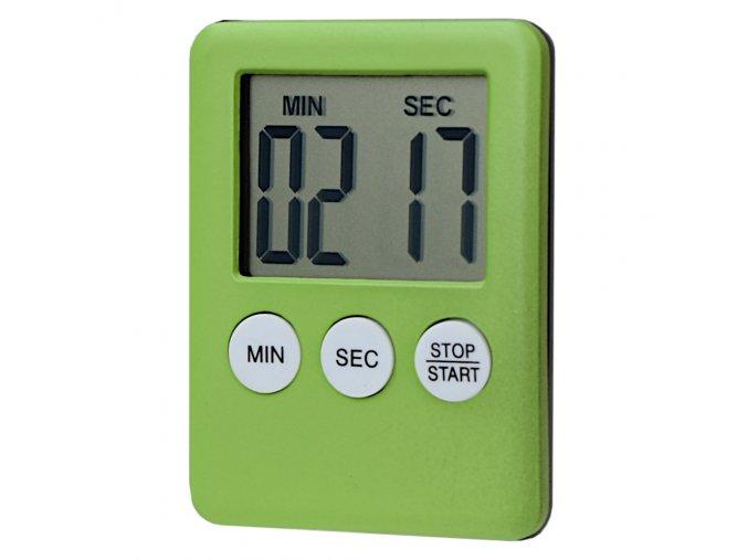 digitalni minutka s magnetem zelena eshophodinek