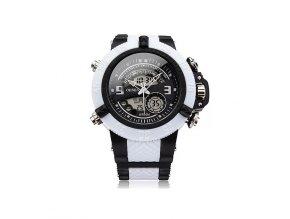 Pánské hodinky Ohsen bílo černé  + 100% skladem