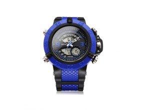 Pánské hodinky Ohsen modro černé  + 100% skladem