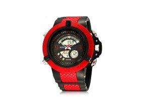 Pánské hodinky Ohsen červeno černé