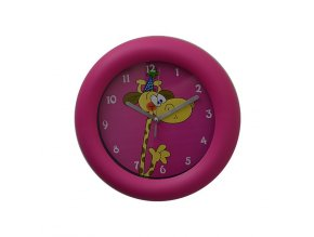 Nástěnné hodiny dětské ŽIRAFA  + 100% skladem + náramek zdarma