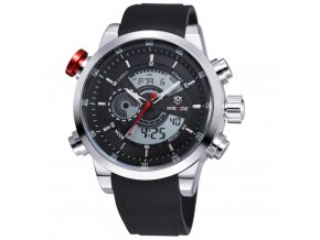 panske hodinky weide 3401 1c s dualnim casem hlavni