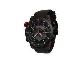 Pánské hodinky WEIDE 3401 černé  + 100% skladem + náramek zdarma