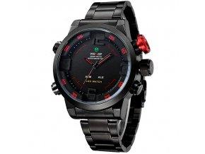 panske hodinky wide wh 2309 črvene