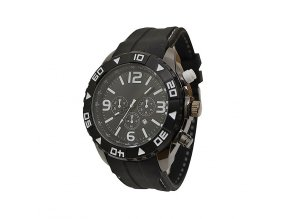 Pánské hodinky DDB černo bílé  + 100% skladem + doprava zdarma