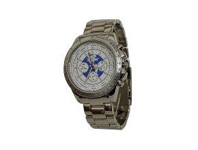 Pánské hodinky Charles Delon 5443 bílé  + 100% skladem + náramek zdarma
