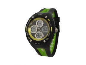 Sportovní hodinky Ohsen 1202 zelené  + 100% skladem + doprava zdarma