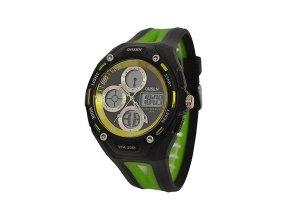 Sportovní hodinky Ohsen 1202 zelené  + 100% skladem