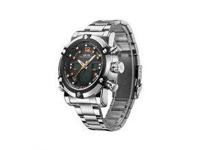 Pánské hodinky WEIDE 5205 červené  + 100% skladem + doprava zdarma