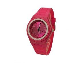 Dětské hodinky Polit 918 tm. růžové