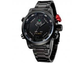 panske hodinky wide wh 2309 červene s bilou