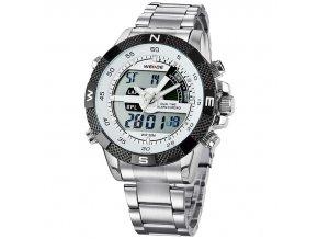 pánské hodinky sportovní WEIDE WH1104 bílé 2