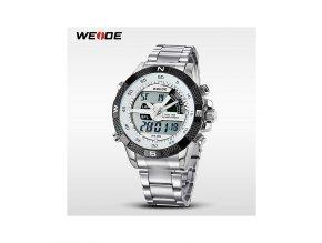 Pánské hodinky WEIDE 1104 bílé  + 100% skladem + doprava zdarma