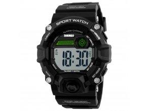 Česky mluvicí hodinky GTUP 1030-B černé pro nevidomé  + 100% skladem + doprava zdarma