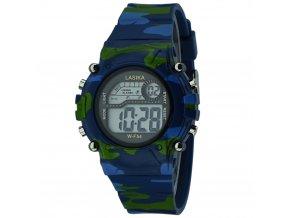 detske vojenske hodinky army lasika f54 modre