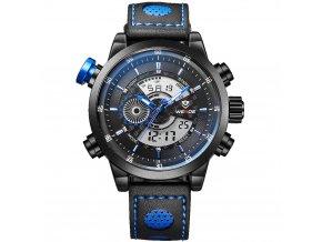 panske sportovni hodinky weide wh 3401b modre