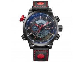 panske sportovni hodinky weide wh 3401b cervene