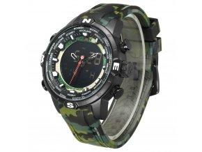 Vojenské hodinky WEIDE 6310 s krokoměrem  + 100% skladem + doprava zdarma po ČR