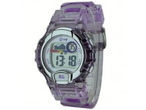 Dětské hodinky Gtup 1090 fialové