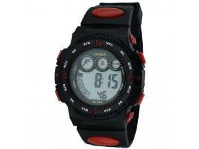 panske digitalni hodinky W F83 červené zezadu (3)