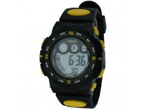 panske digitalni hodinky W F83 žluté levné cena (3)