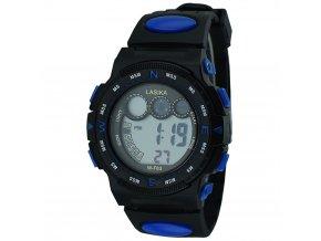 panske digitalni sportovní hodinky W F83 modré zezadu (3)