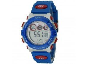 detske hodinky digitalni gtup 1110 modre