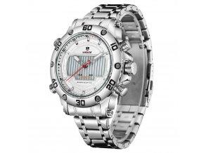 pánské hodinky s led podsvícením weide wh 6910 bílé white (2)