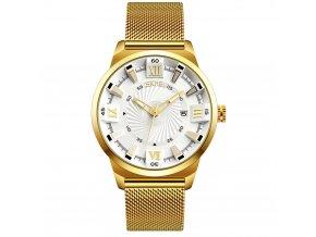 panske hodinky skmei 9166 bile elegantni