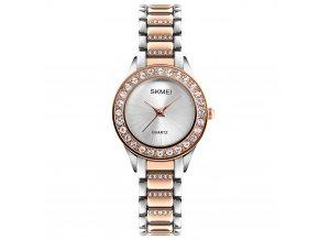 damske luxusni hodinky skmei 1262 bronze