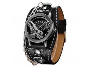 motorkarske hodinky pro motorkare usa americky orel oteviraci s krytem