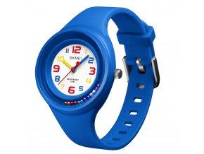 detske rucickove analogove hodinky na baterii 1386 modre