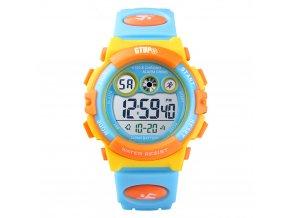 detske digitalni sportovni hodinky gtup 1110 vodotesne barevne