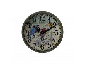 hodinky hodiny nastenne magneticke magnet na lednicku ptacci