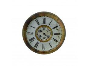 hodinky hodiny nastenne magneticke magnet na lednicku retro