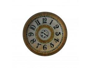 hodinky hodiny nastenne magneticke magnet na lednicku retro clasik