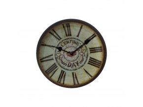 hodinky hodiny nastenne magneticke magnet na lednicku valentinek